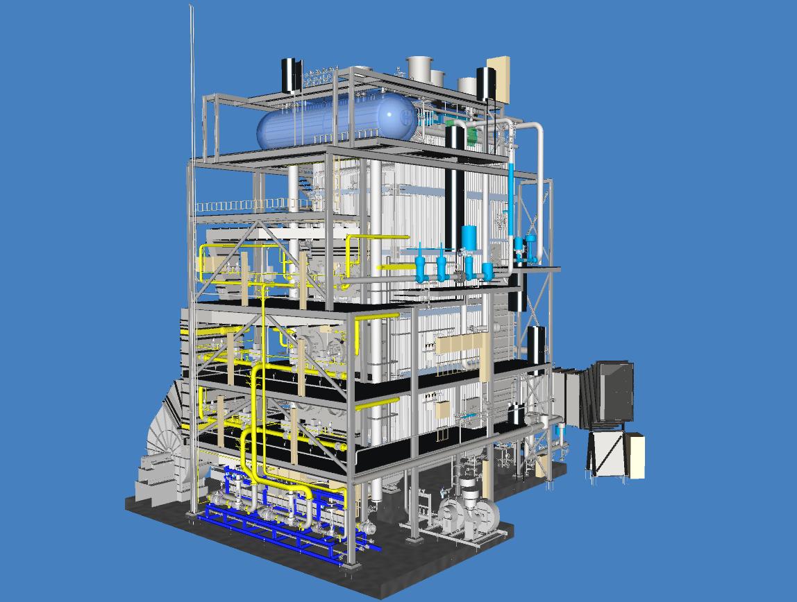 Stork STQ – HP-boiler Sabic, UK